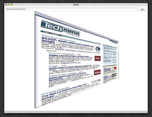 TechMeme in 3DWeb