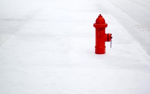 Snowy Hydrant