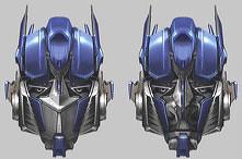 Optimus Prime (Head Shot)