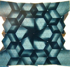 Deltoidal Trihexagonal Tiling + Stars, backlit