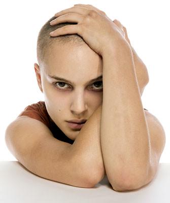 , Natalie Portman's Shaved Head