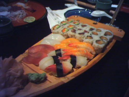 Andy's Small Sushi Boat @ Taki