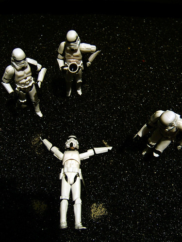 Stormtroopers on the Moon