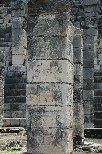 Chichen Itza - 15 - Warrior Pillar