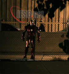 Stolen Iron Man Images on Set