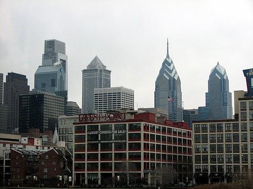 Filadelfia, desde la ruta