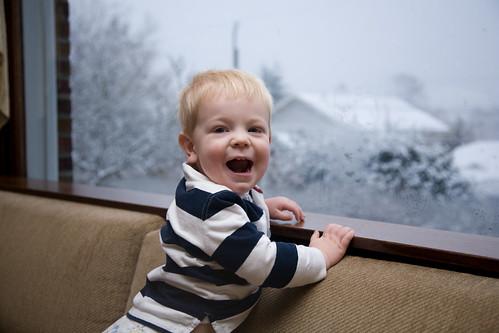 Yay! Snow!