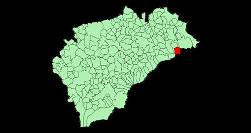 Riofrio dentro de Segovia