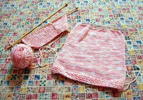 Bamboozle Layette Sweater (by jeninmaine)