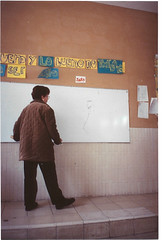 Elisa en clase