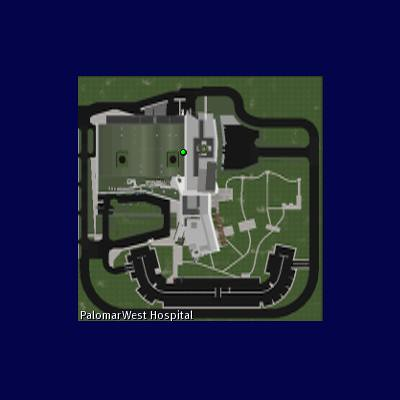 Map of the sim / the hospital
