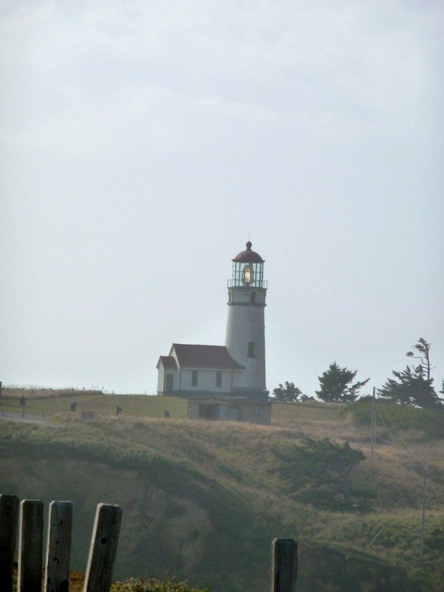 Lighthouse at Cape Blanco State Park