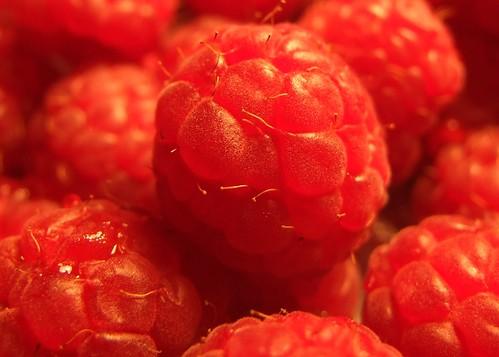 25 April - Raspberries galore