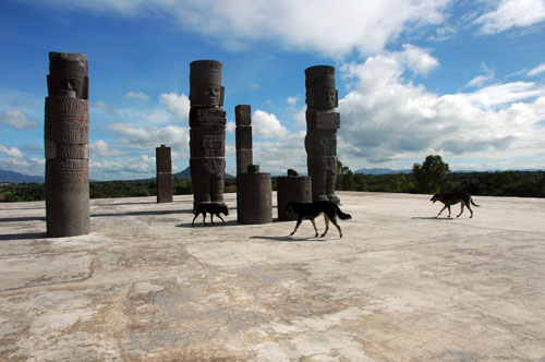 12 - Toltec Dogs and Atlantes