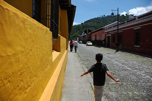 La Antigua  - 04 Yellow wall