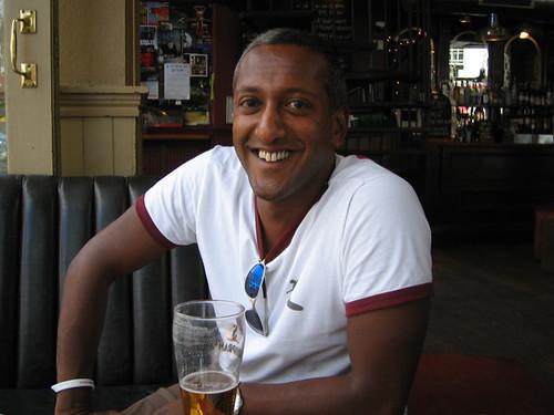 Pic of Andrew, Islington, 2005