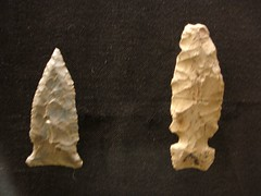 Artifact from Museum in Moundville AL - Arrowheads