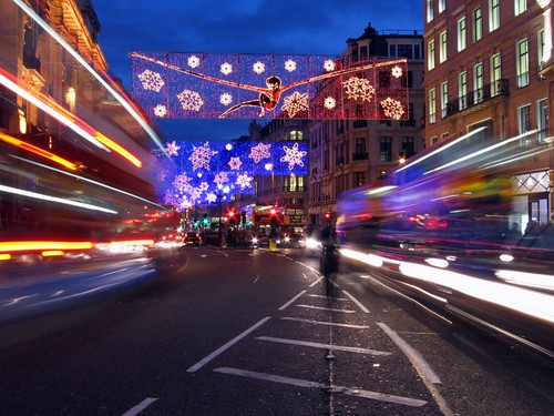 Regent Street, London - December 2004