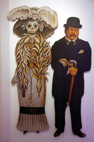 Aguascalientes - 04 - Posada with Catrina