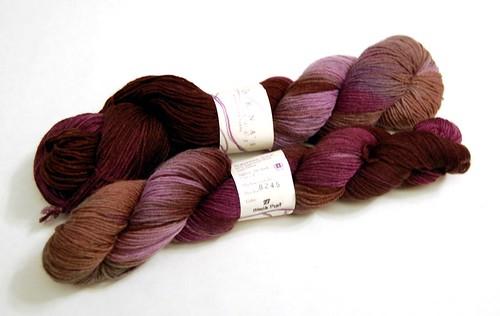 Lorna's Laces Shepherd Sock - Black Purl (by jeninmaine)