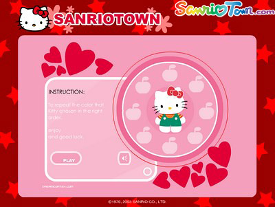 Put your memory to the test against Hello Kitty's!