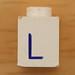 Vintage LEGO Letter L