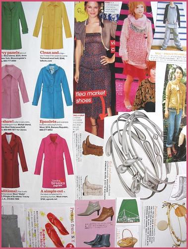 fashion scrapbook page 12