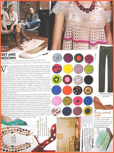 fashion scrapbook page 10