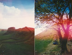 hadrians wall montage