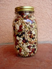 Bean jar, by Flickr user c00lsh0ts