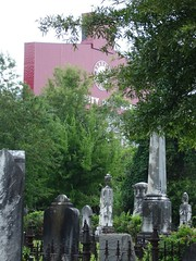In the Shadows of Bryant-Denny, Greenwood Cemetery, Tuscaloosa AL