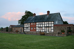 Bearwood House at dusk