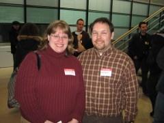 Keith Burtis and Michelle Miszewski