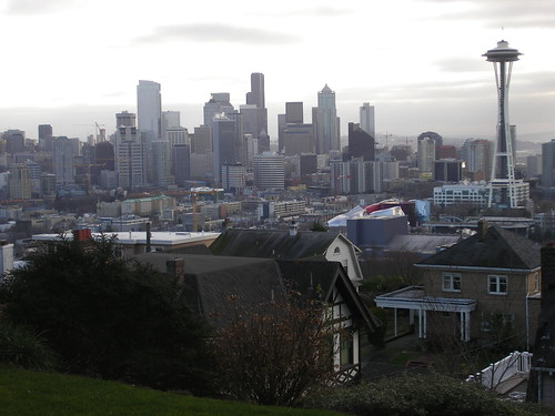 perfect seattle skyline