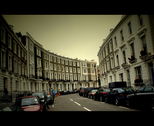Some curve Notting Hill Street