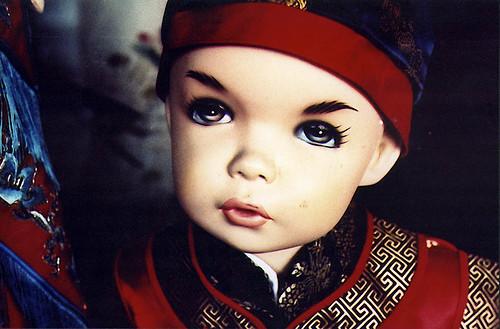 Caucasian asian