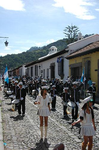 La Antigua  - 01 School Marching band