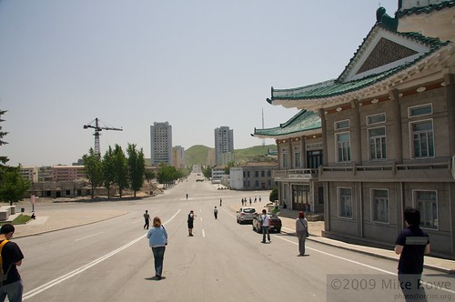 Restaurant and downtown Kaesong