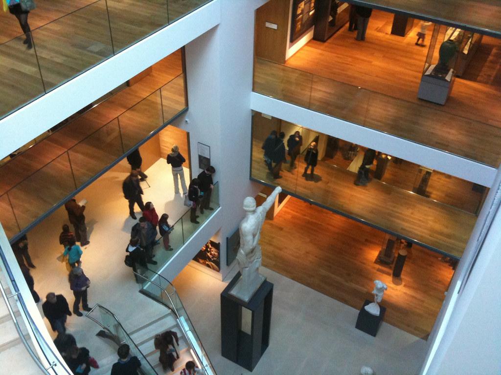 New Ashmolean | Central stairway/lightwell
