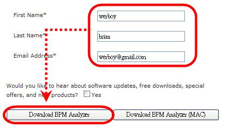 音樂節奏分析器 MixMeister BPM Analyzer  3708867379_49fe99a22e