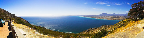 False Bay from Steenbras Water Plant