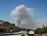 Topanga Canyon Fire