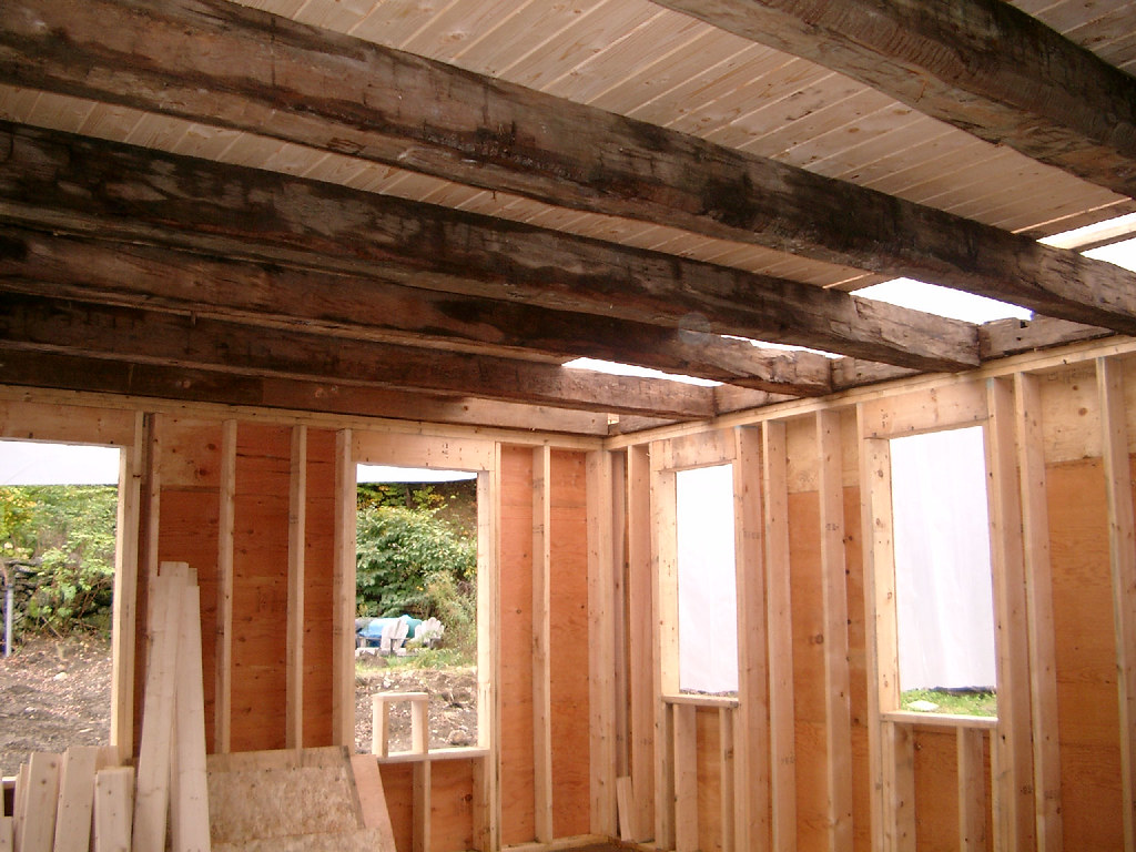 Ell Ceiling Beams - 1