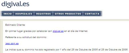 Dominio jasp.com.es