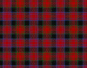 The Alexander clan tartan of Scotland