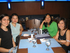 With friends at Table 7