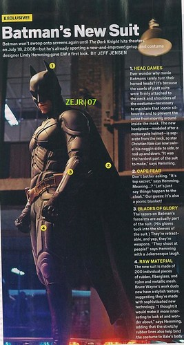 New Batman Suit