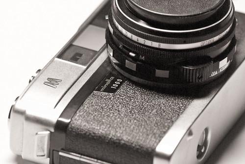 Minolta A5 rangefinder camera | 2