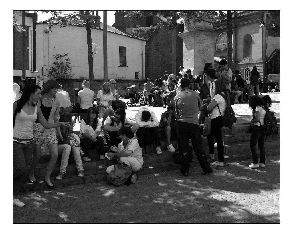 July | Oxford | the new Bonn Square