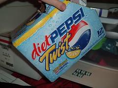 Diet Pepsi Twist